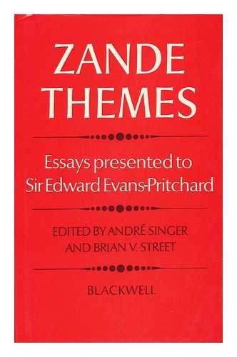 zande themes essays presented to sir edward evans  9780631138600 zande themes essays presented to sir edward evans pritchard