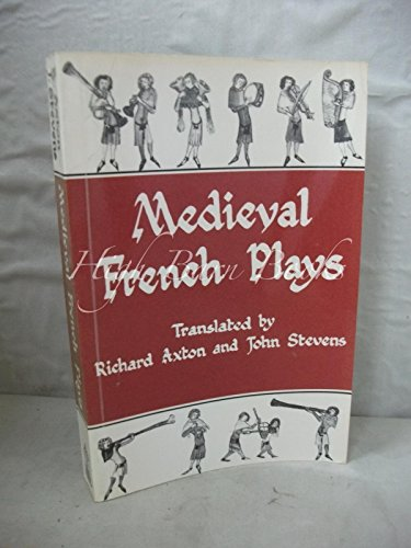 9780631139201: Medieval French Plays