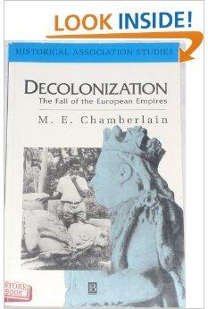 Decolonization (Historical Association Studies): Chamberlain, Geoffrey