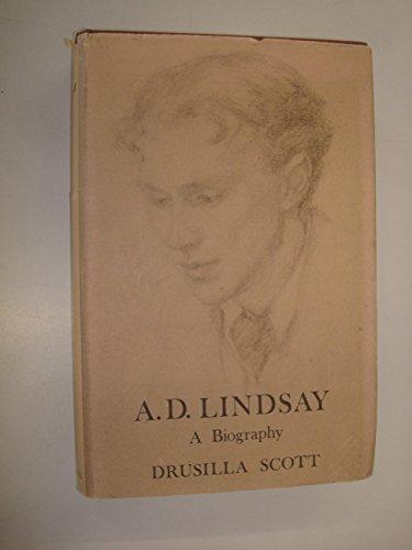 9780631139805: A.D.Lindsay: A Biography