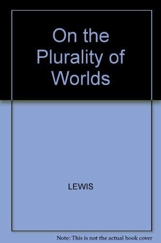 9780631139935: On the Plurality of Worlds