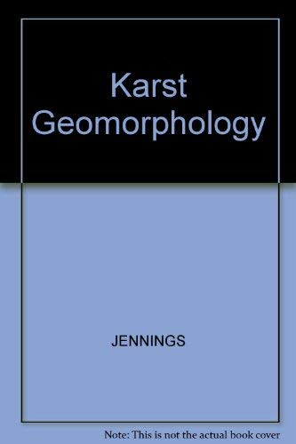9780631140313: Karst Geomorphology