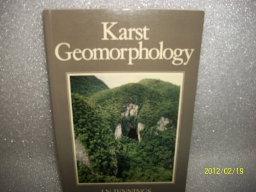 9780631140320: Karst Geomorphology
