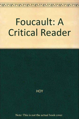 9780631140429: Foucault: A Critical Reader