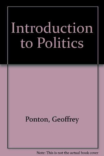 9780631141426: Introduction to Politics