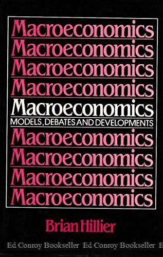 9780631141433: Macroeconomics
