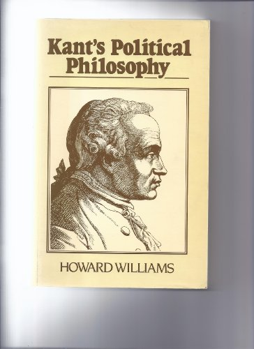 9780631141532: Kant's Political Philosophy