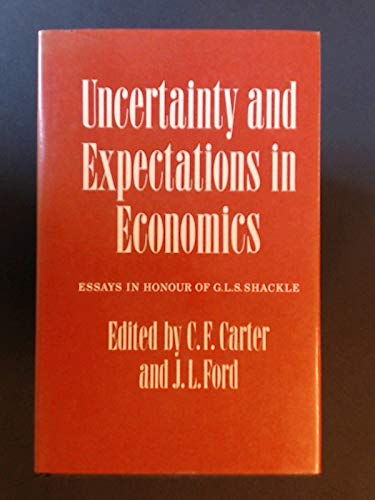 9780631141709: Uncertainty and Expectations in Economics
