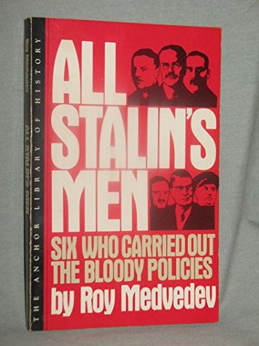 9780631141877: All Stalin's Men