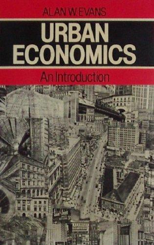 9780631141952: Urban Economics: An Introduction