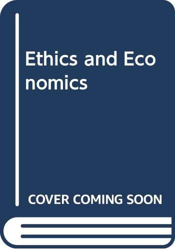 9780631143598: Ethics and Economics
