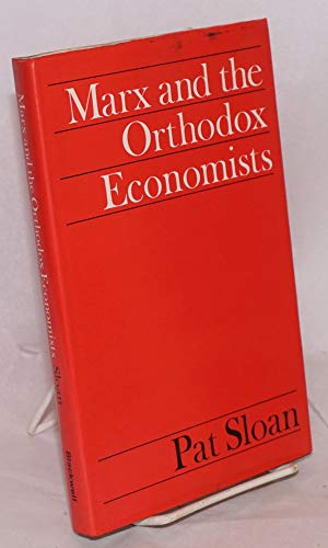 9780631145905: Marx and the Orthodox Economists