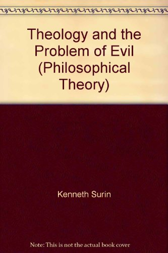 9780631146636: Theology and the Problem of Evil (Philosophical Theory)