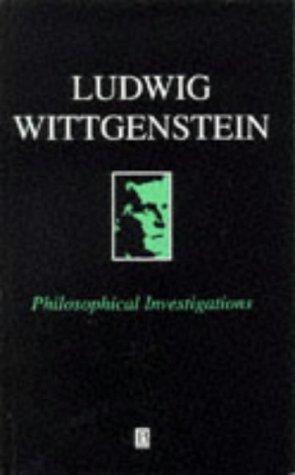 9780631146704: Philosophical Investigations