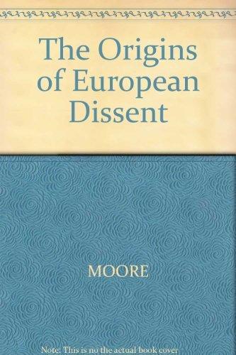 9780631147213: The Origins of European Dissent