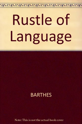 9780631148647: Rustle of Language