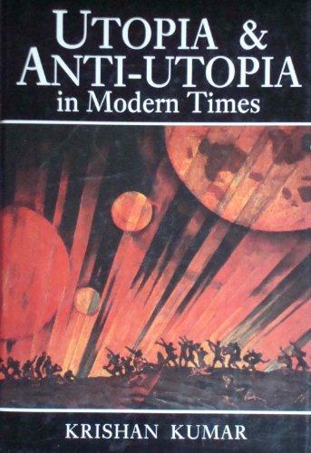 9780631148739: Utopia and Anti-utopia in Modern Times