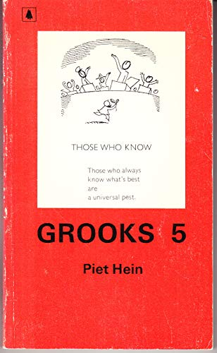 9780631149002: Grooks IV: Motes and Beams