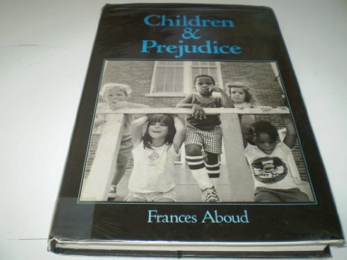 9780631149392: Children and Prejudice (Social Psychology and Society)