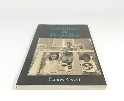 9780631149415: Children and Prejudice (Social Psychology and Society)
