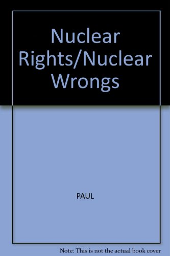 Nuclear Rights/Nuclear Wrongs: Bowling Green State University