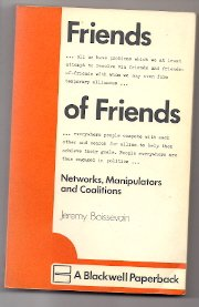 9780631149804: Friends of friends : networks, manipulators and coalitions