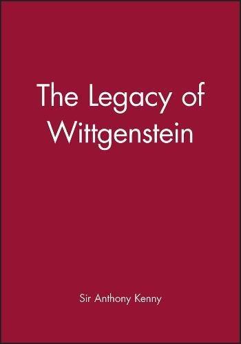 9780631150633: The legacy of Wittgenstein.