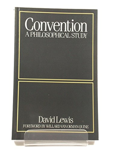 9780631150794: Convention: A Philosophical Study