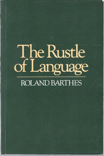 9780631152163: The Rustle of Language.