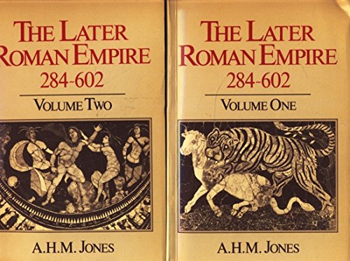 9780631152507: Later Roman Empire, 284-602: A Social, Economic and Administrative Survey (Later Roman Empire, The)