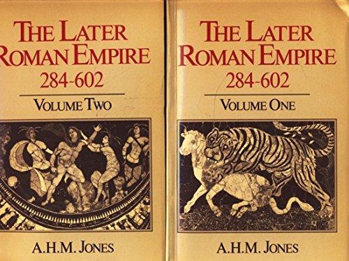 9780631152507: Later Roman Empire, 284-602: A Social, Economic and Administrative Survey (Later Roman Empire, The)