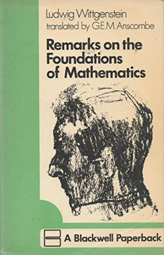 9780631152705: Remarks on the Foundations of Mathematics