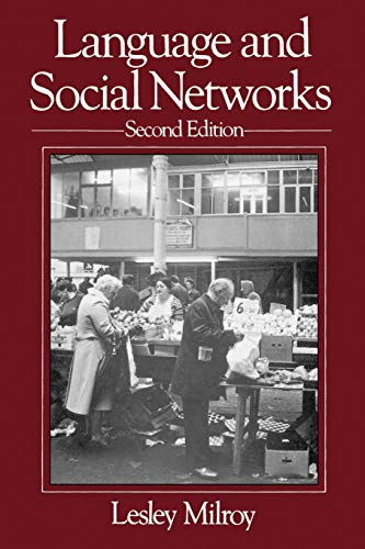 9780631153146: Language and Social Networks