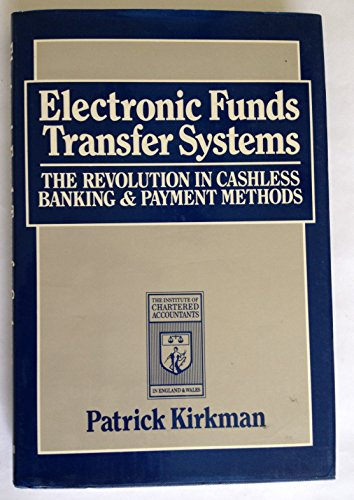 9780631153177: Electronic Funds Transfer Systems: The Revolution in Cashless Banking and Payment Methods