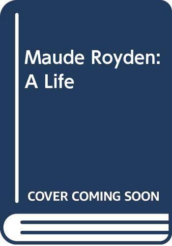 9780631154228: Maude Royden