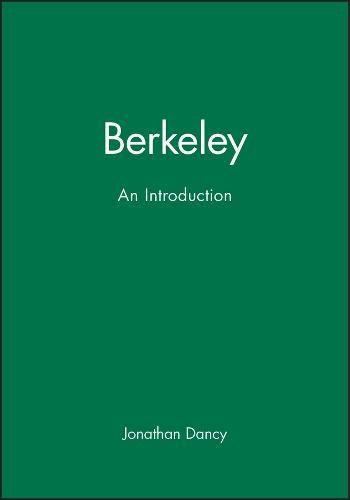 9780631155096: Berkeley: An introduction