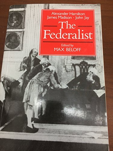 9780631155188: The Federalist Or, the New Constitution