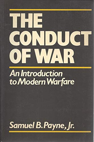 9780631155324: The Conduct of War: Introduction to Current Military Strategy
