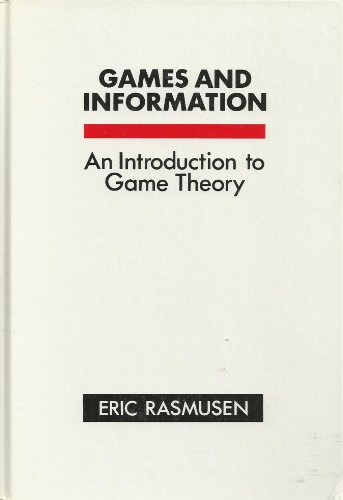 9780631157090: Games and Information