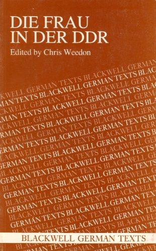 9780631157892: Die Frau in der DDR (German Texts)