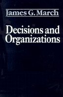 9780631158127: Decision and Organizations