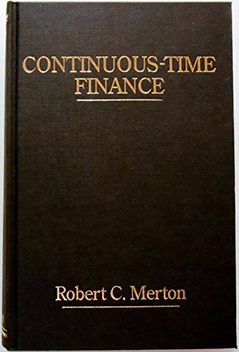 9780631158479: Continuous-time Finance