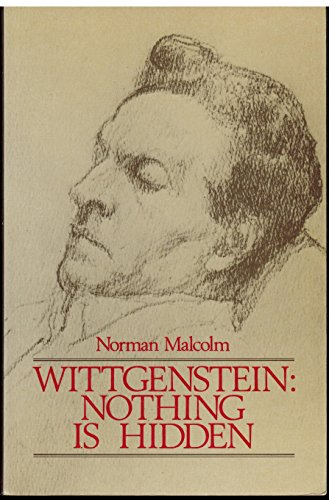 9780631160243: Wittgenstein: Nothing Is Hidden
