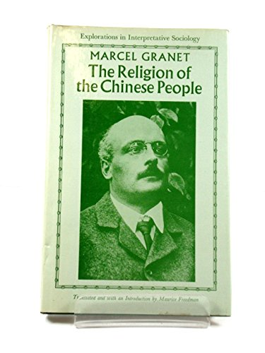 9780631160502: Religion of the Chinese People (Explorations in Interpretative Sociology)