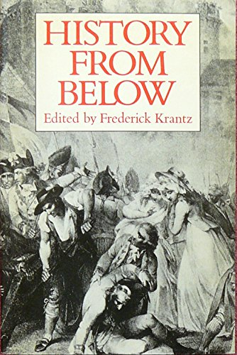 9780631161158: History from Below: French and English Popular Protest, 1600-1800