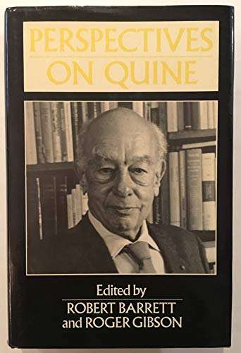 9780631161356: Perspectives on Quine (Philosophers & Their Critics)