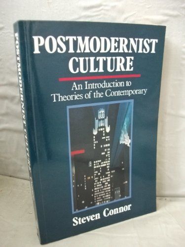 9780631162032: Postmodernist Culture: An Introduction to Theories of the Contemporary