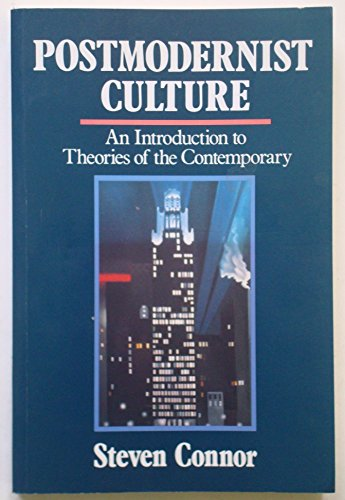 9780631162049: Postmodernist Culture: An Introduction to Theories of the Contemporary