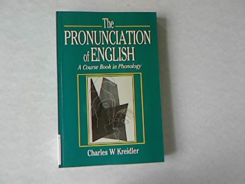 9780631162186: The Pronunciation of English: Course Book in Phonology