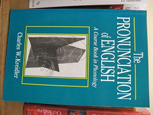 9780631162193: The Pronunciation of English: Course Book in Phonology